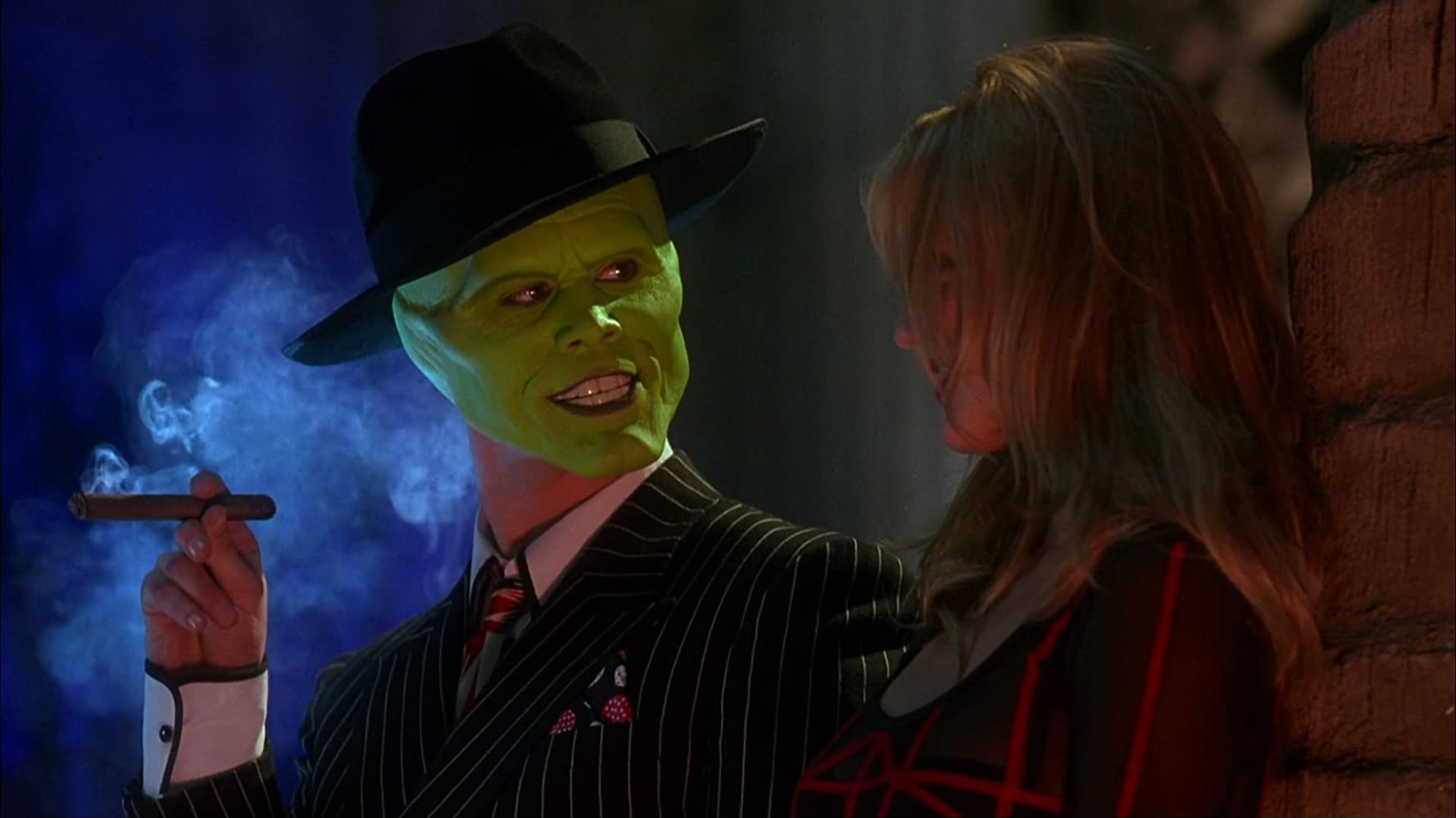 Jim Carrey and Cameron Diaz in The Mask (1994)