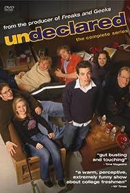 Jay Baruchel, Carla Gallo, Charlie Hunnam, Monica Keena, Seth Rogen, Timm Sharp, and Loudon Wainwright III in Undeclared (2001)