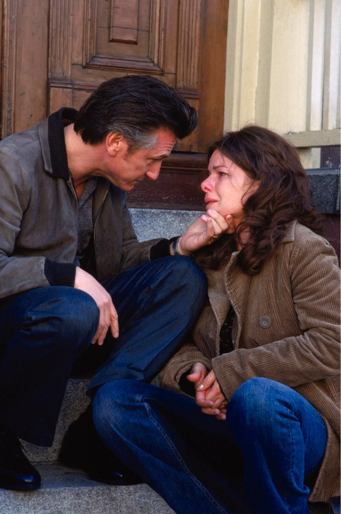 Sean Penn and Marcia Gay Harden in Mystic River (2003)