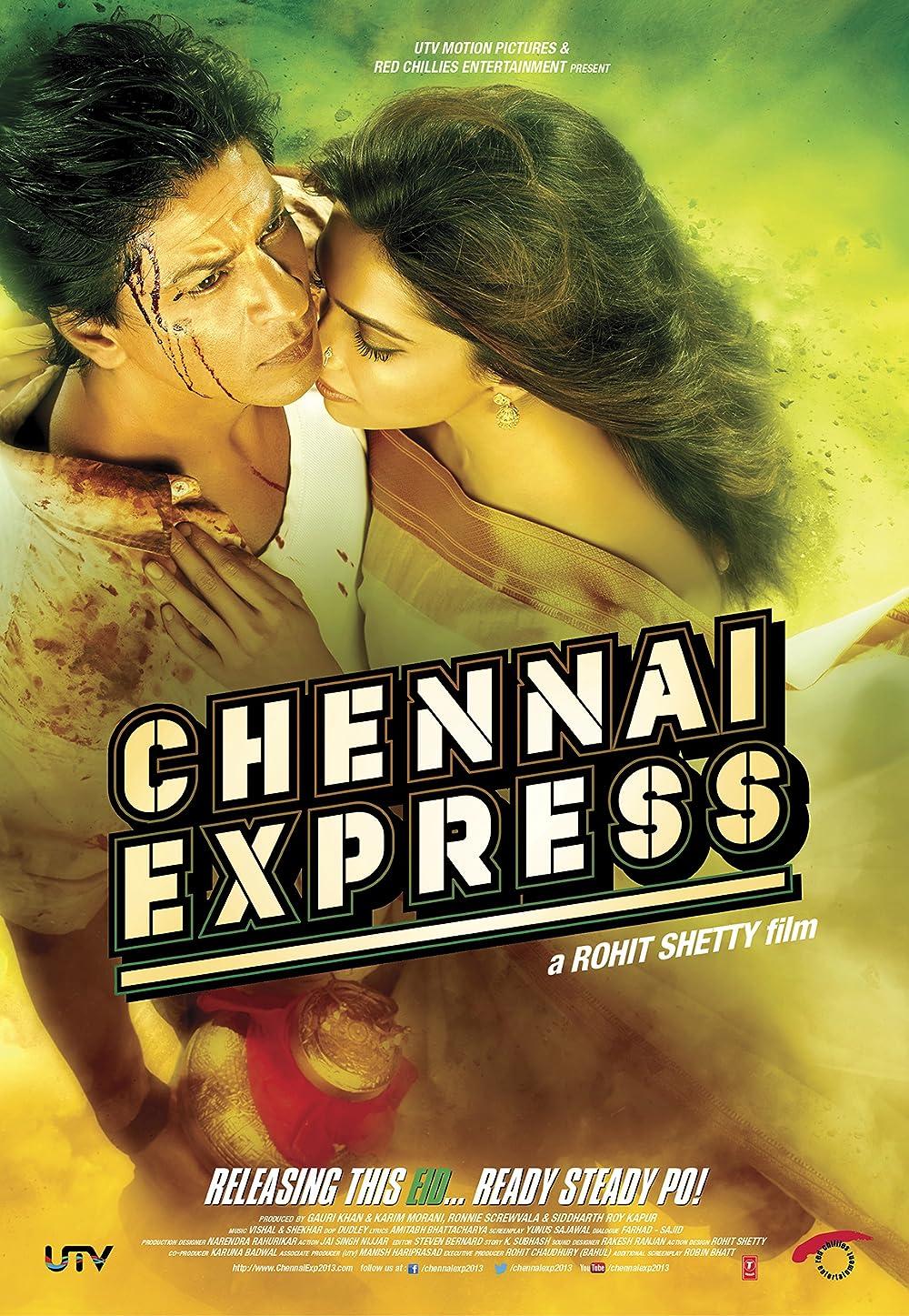 Chennai Express 2013 Hindi Movie 720p BluRay x264 AAC 1.3GB Download