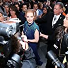 Jessica Chastain at an event for Molly's Game (2017)
