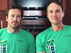 Armie Hammer and Jim Klock Supporting Special Olympics Law Enforcement Torch Run