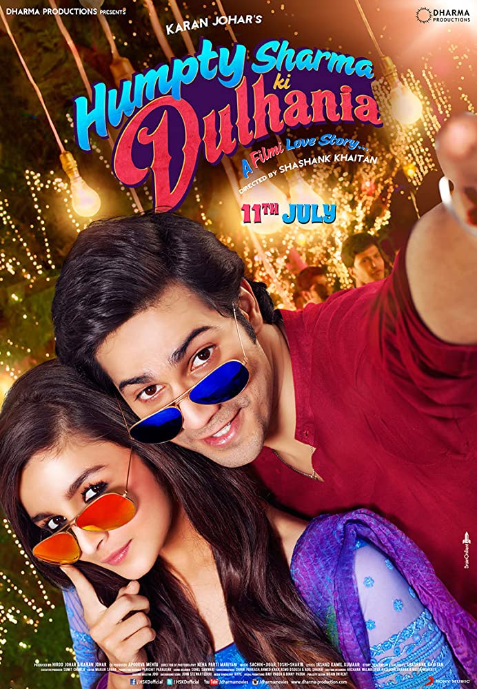 Humpty Sharma Ki Dulhania 2014 Hindi 720p BluRay 900MB ESubs Download