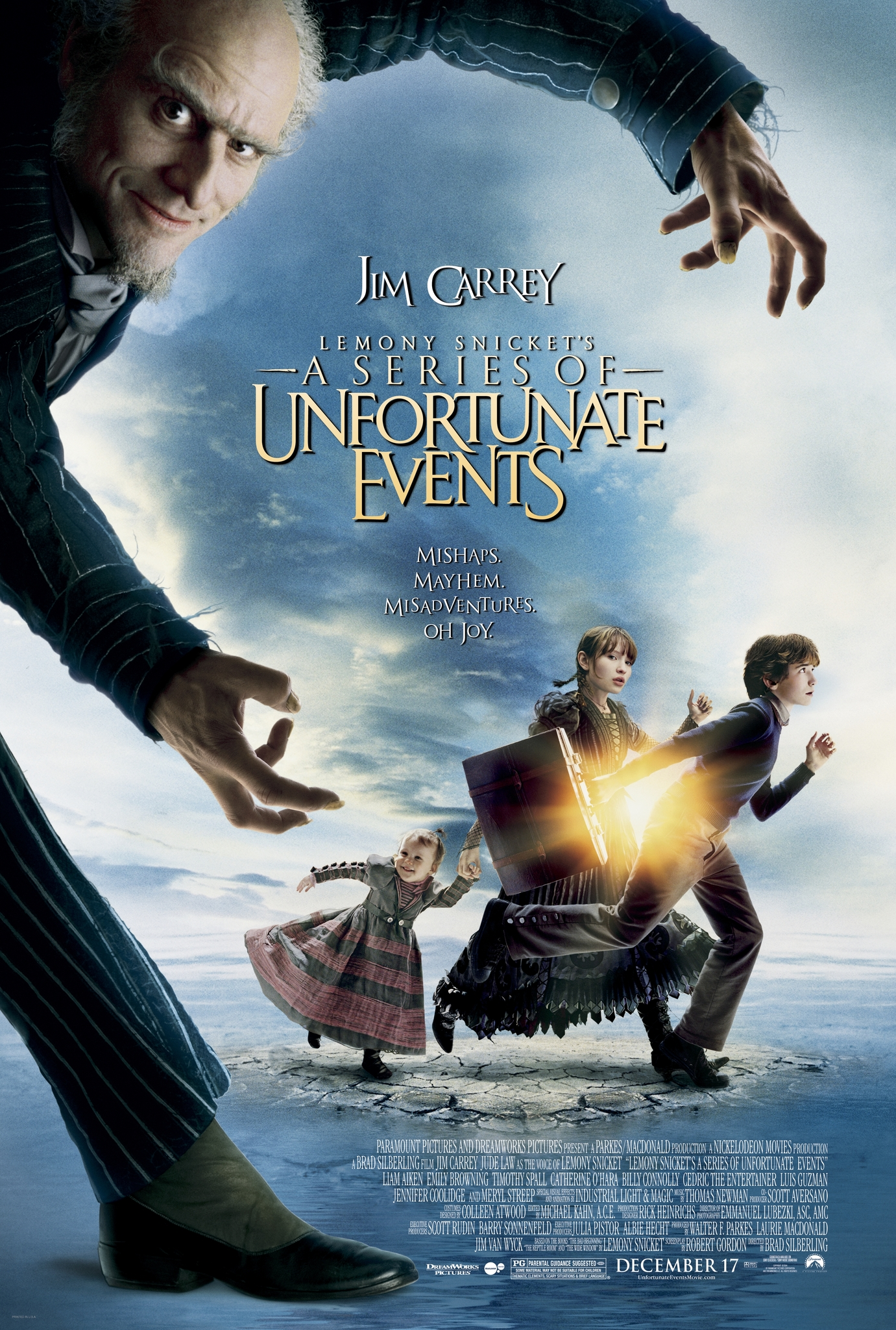 a series of unfortunate events free online movie