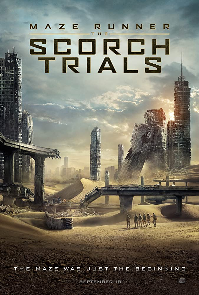 Poster Film The Maze Runner: Scorch Trial