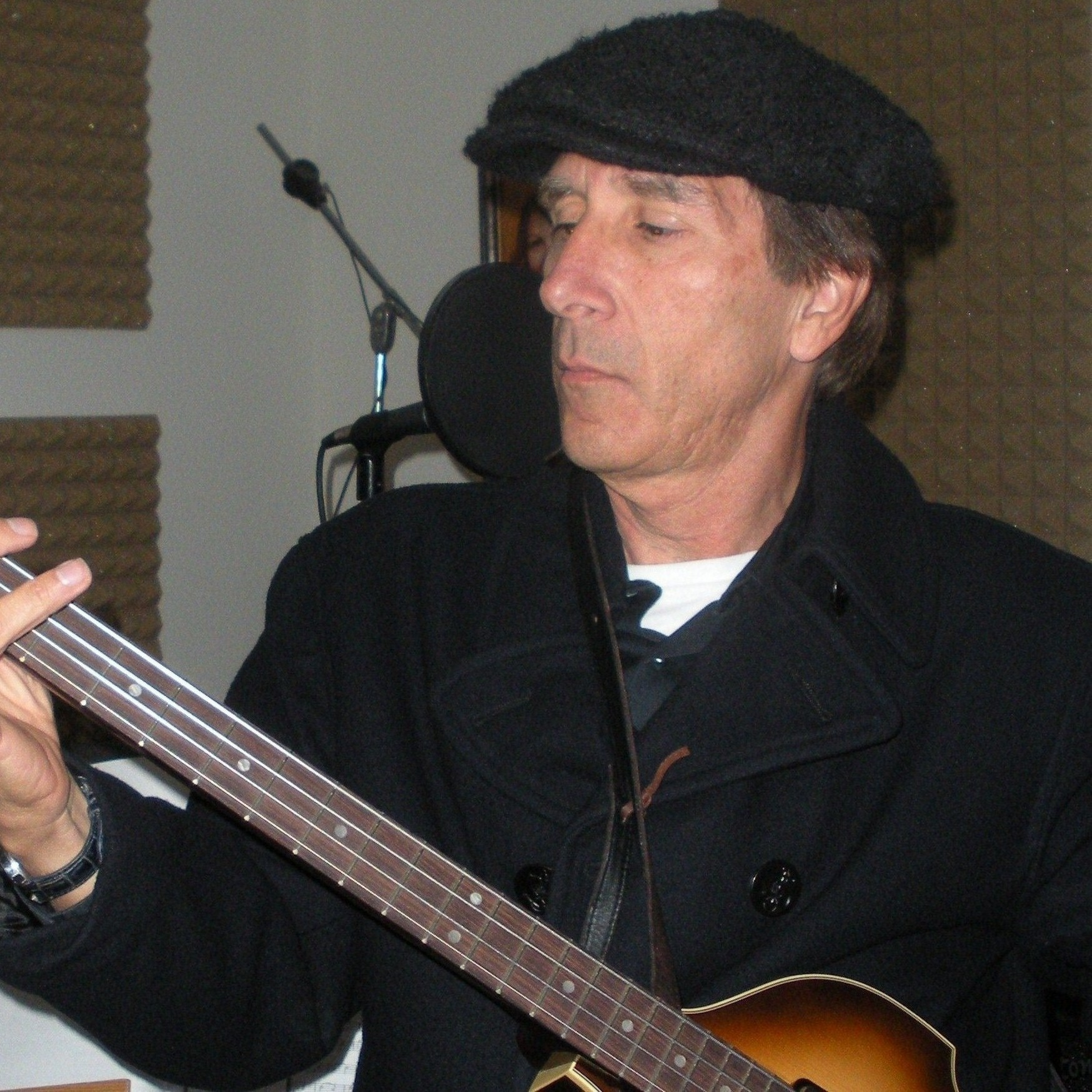 """On my """"Beatle Bass"""" (Hofner 500/1) for """"Taking the Long Way Home"""""""