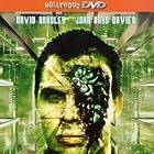 Todd Jensen and John Rhys-Davies in Cyborg Cop (1993)