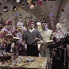 Tony Curtis, Peter Falk, Jack Lemmon, Blake Edwards, and Keenan Wynn in The Great Race (1965)