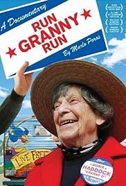 Run Granny Run Poster
