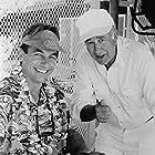 Mark Harmon and Carl Reiner in Summer School (1987)