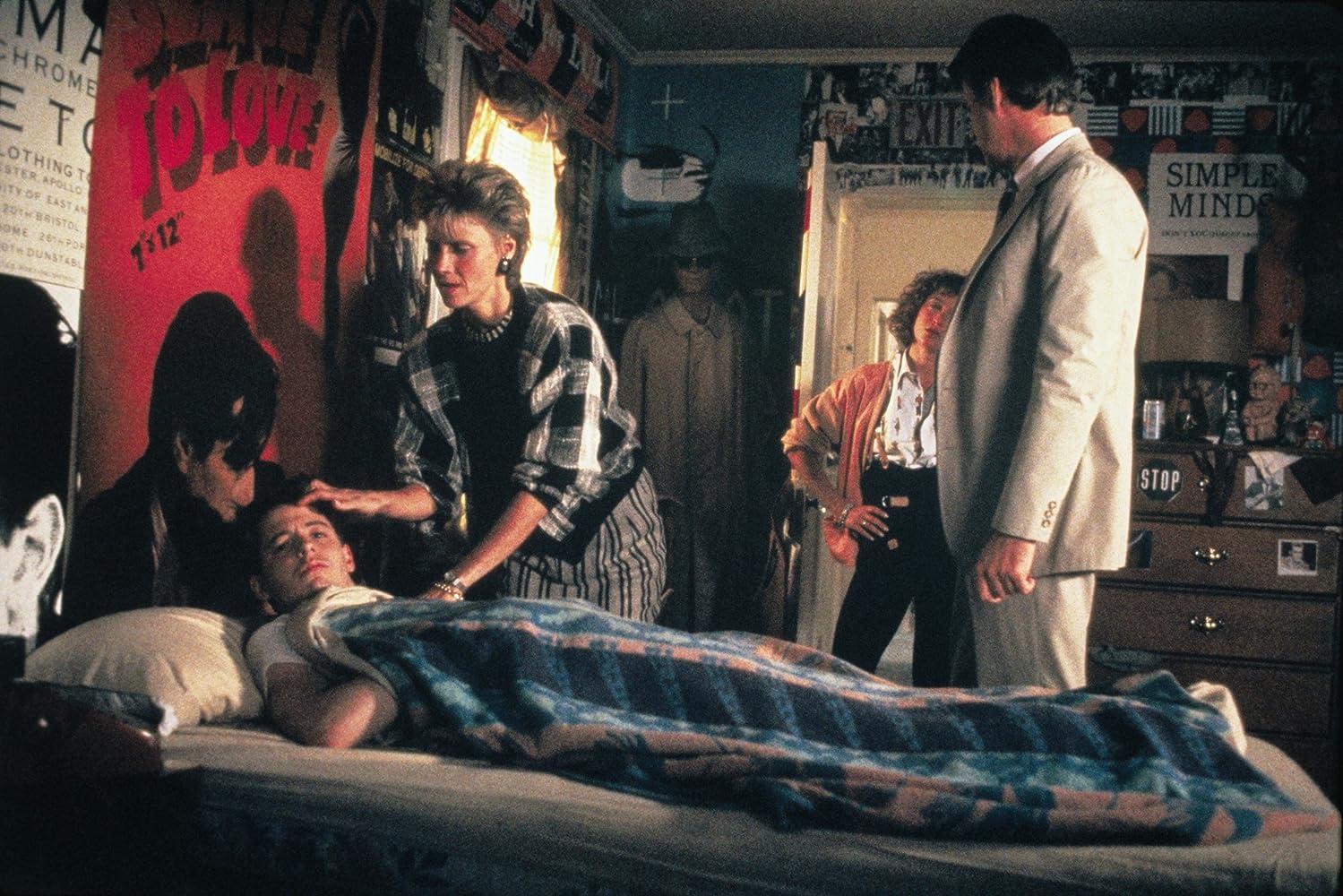 Matthew Broderick, Jennifer Grey, Cindy Pickett, and Lyman Ward in Ferris Bueller's Day Off (1986)