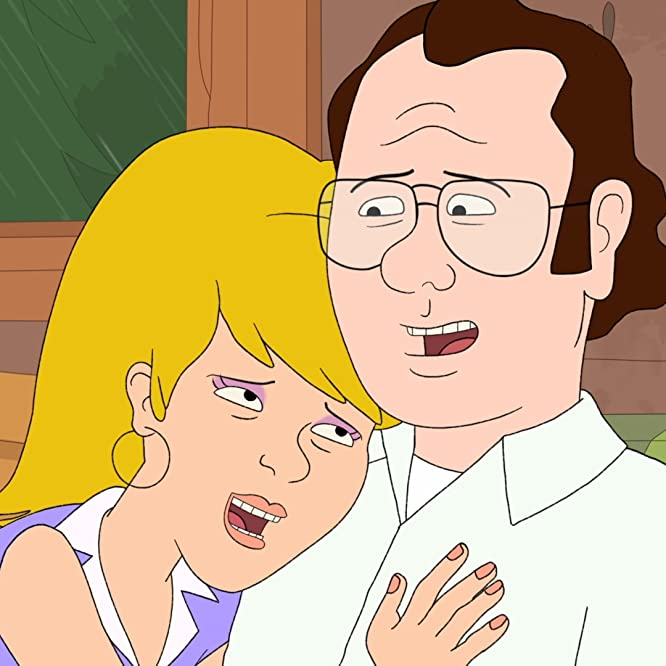 Laura Dern and Bill Burr in F Is for Family (2015)