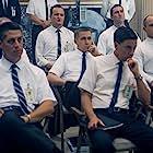 Jason Clarke, Ethan Embry, Ryan Gosling, Choppy Guillotte, and Pablo Schreiber in First Man (2018)