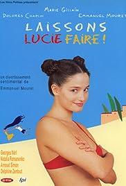 Laissons Lucie faire! Poster