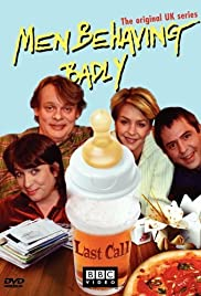 British Men Behaving Badly Poster