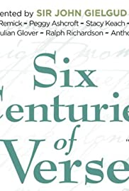Six Centuries of Verse Poster