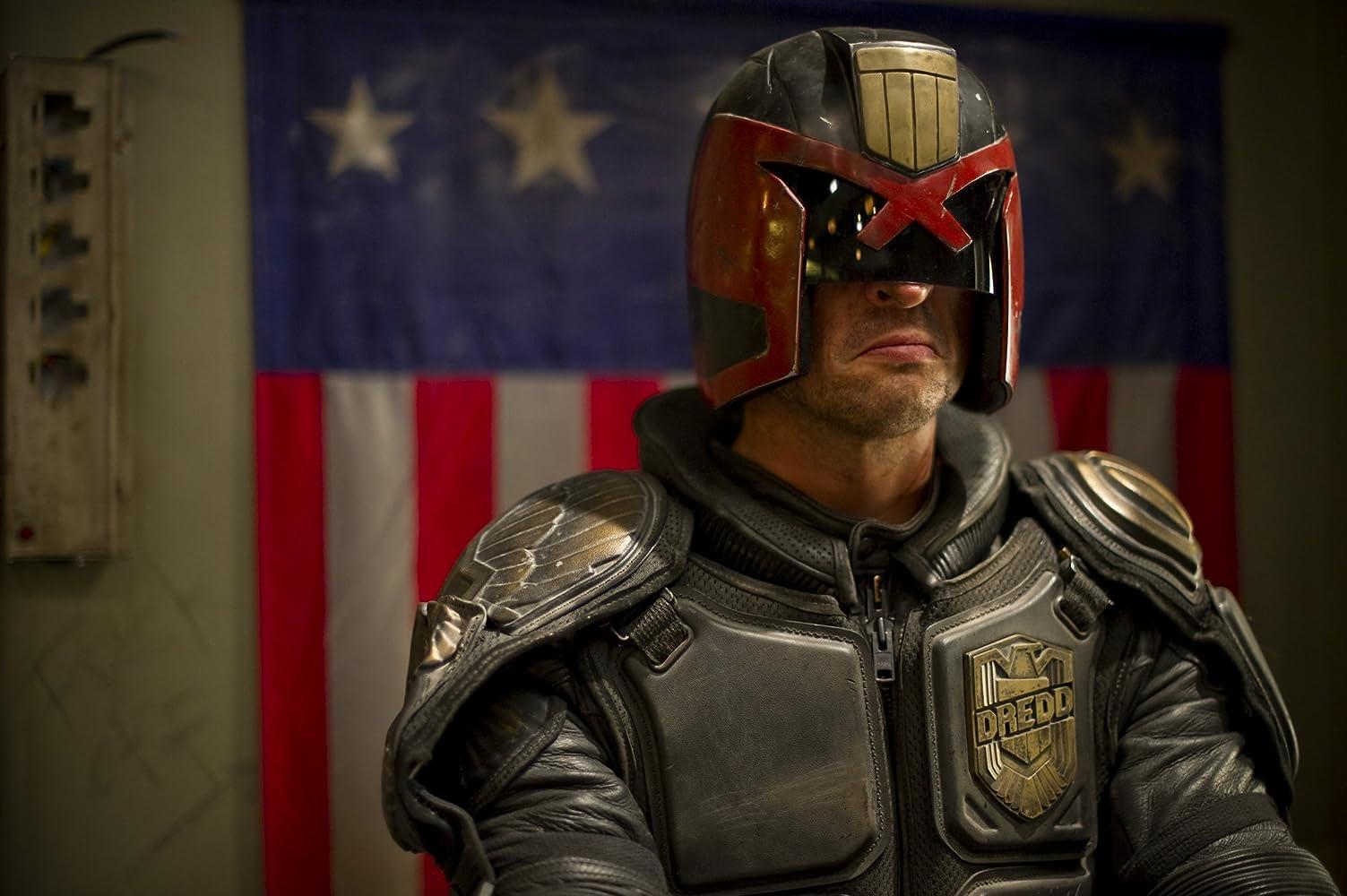 Karl Urban in Dredd (2012)