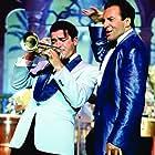 Antonio Banderas and Armand Assante in The Mambo Kings (1992)