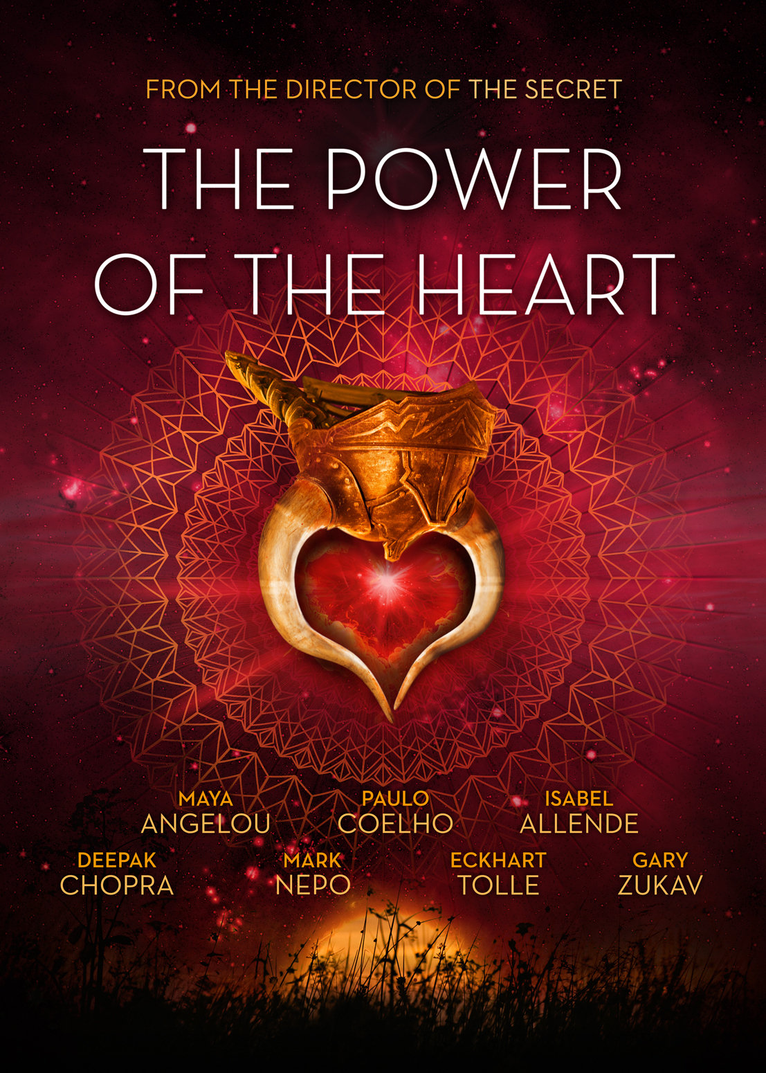 Love is a healing power. The actors of the movie Love healing power