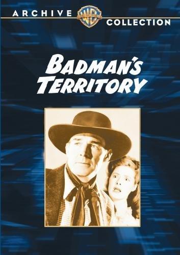 Randolph Scott and Ann Richards in Badman's Territory (1946)