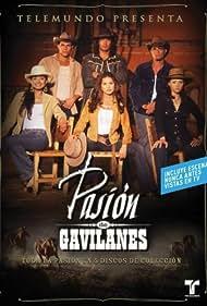 Juan Alfonso Baptista, Michel Brown, Mario Cimarro, Danna García, Natasha Klauss, and Paola Rey in Pasión de Gavilanes (2003)