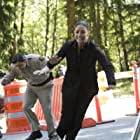 Kavan Smith and Erica Cerra in Eureka (2006)