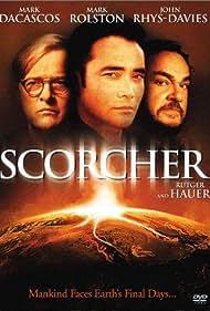 Rutger Hauer, Mark Dacascos, and John Rhys-Davies in Scorcher (2002)