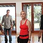 Adam Baldwin, Zachary Levi, Justin Hartley, and Yvonne Strahovski in Chuck (2007)