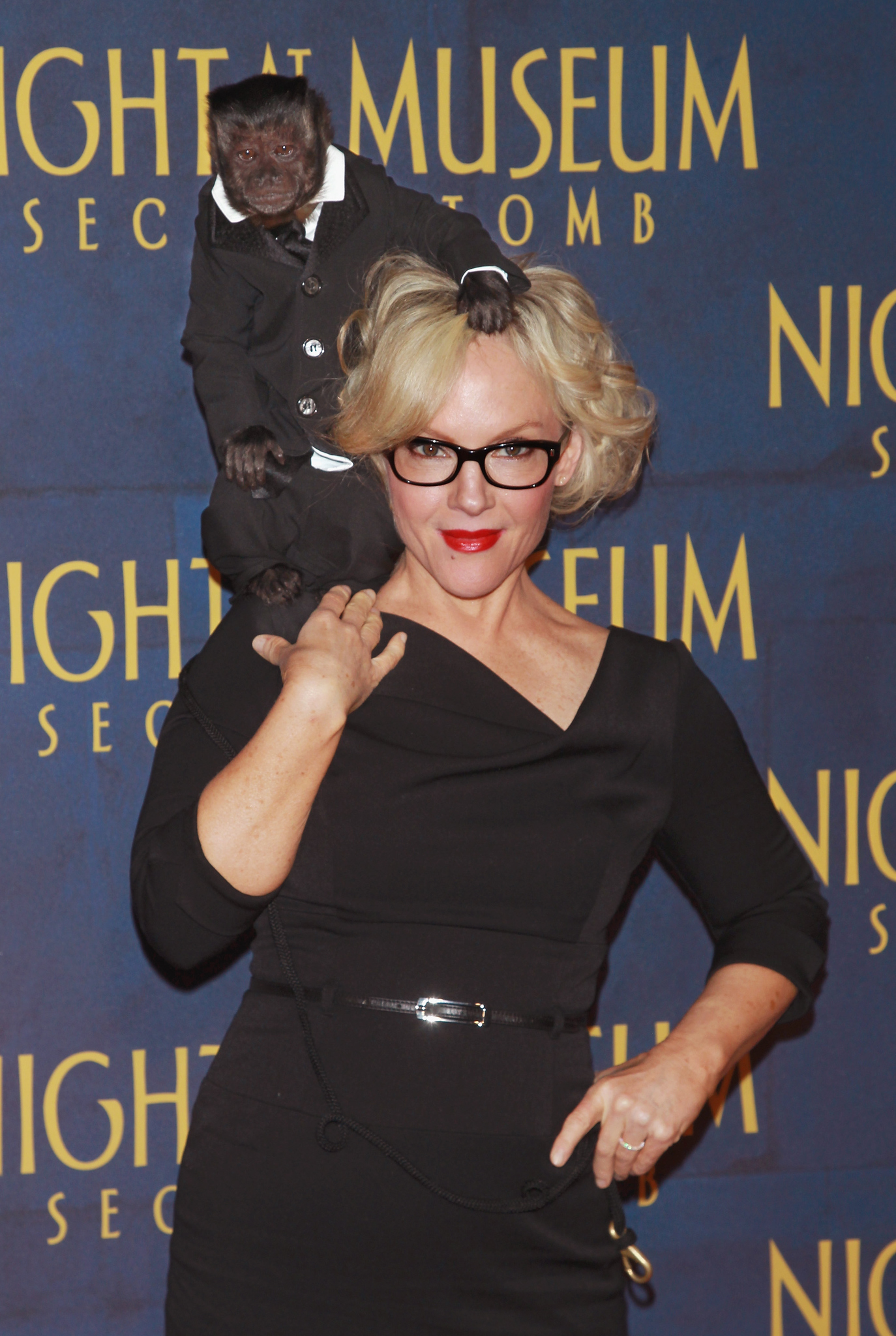 Rachael Harris at an event for Night at the Museum: Secret of the Tomb (2014)
