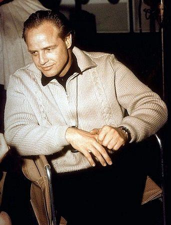 "Marlon Brando Director on the set of ""One Eyed Jacks"" 1961 Paramount"