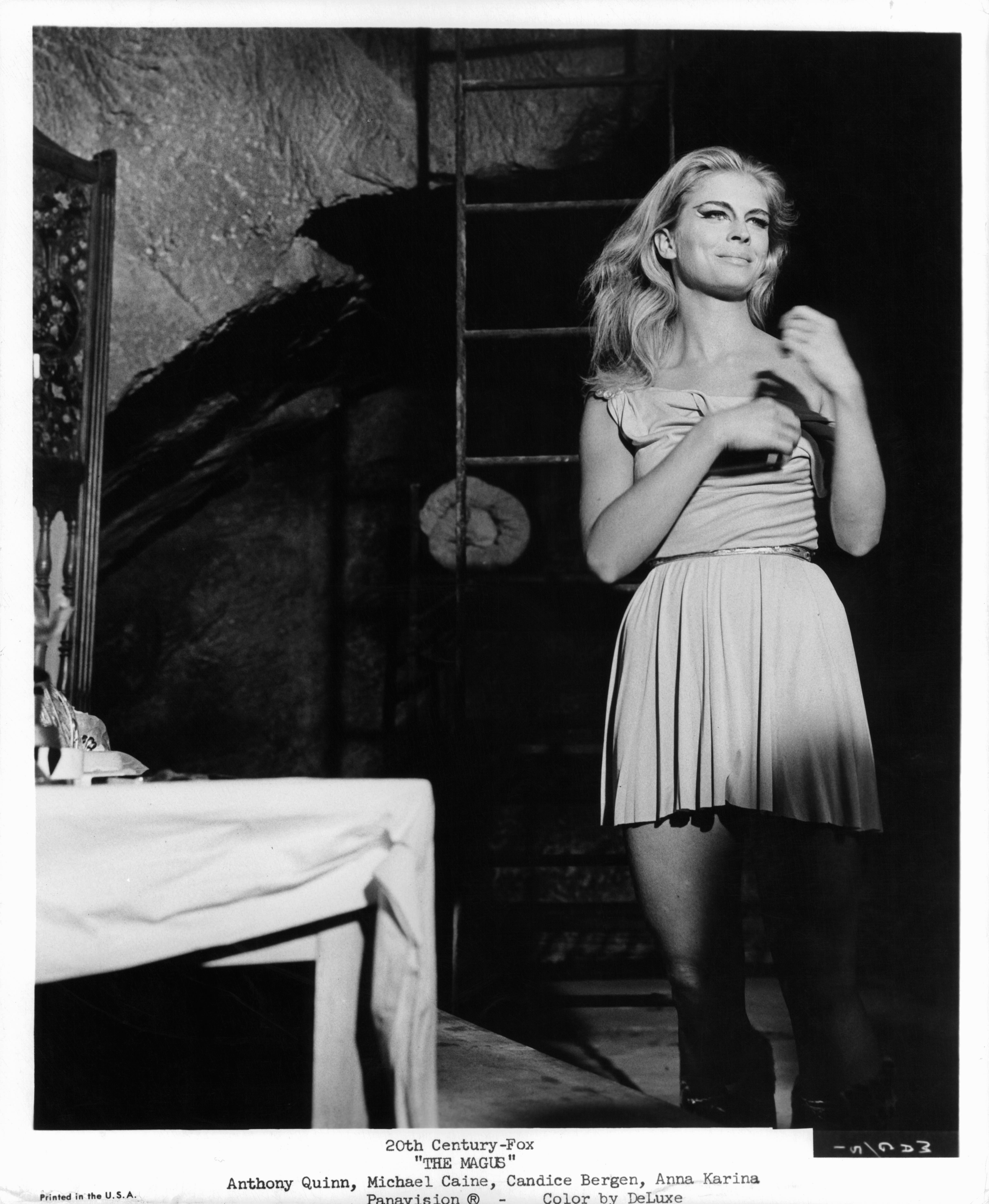 Candice Bergen in The Magus (1968)