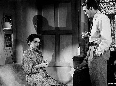 """9202-11 """"Roman Holiday"""" Audrey Hepburn and Gregory Peck"""