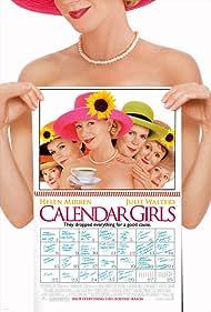 Helen Mirren, Linda Bassett, Annette Crosbie, Georgie Glen, Celia Imrie, Geraldine James, and Julie Walters in Calendar Girls (2003)