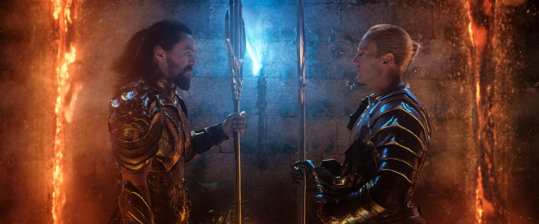 Jason Momoa and Patrick Wilson in Aquaman (2018)