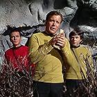 Walter Koenig, William Shatner, and James Doohan in Star Trek (1966)