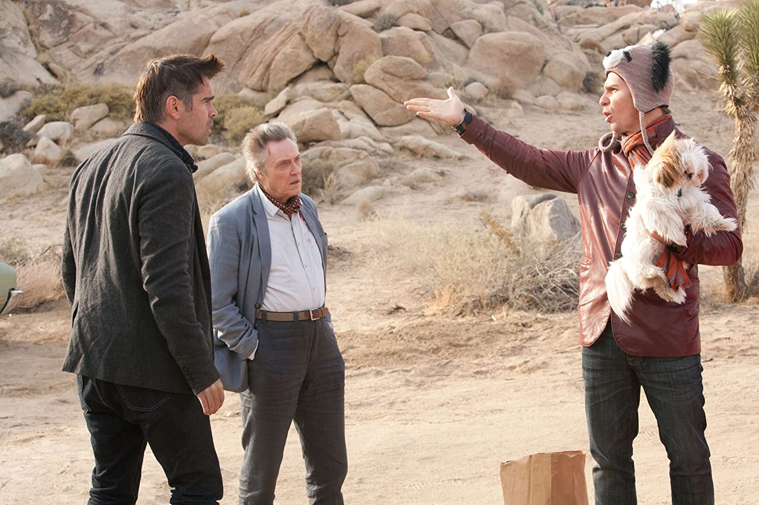 Christopher Walken, Sam Rockwell, and Colin Farrell in Seven Psychopaths (2012)