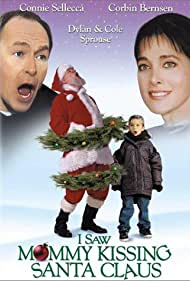 Corbin Bernsen, Connie Sellecca, Cole Sprouse, and Dylan Sprouse in I Saw Mommy Kissing Santa Claus (2001)