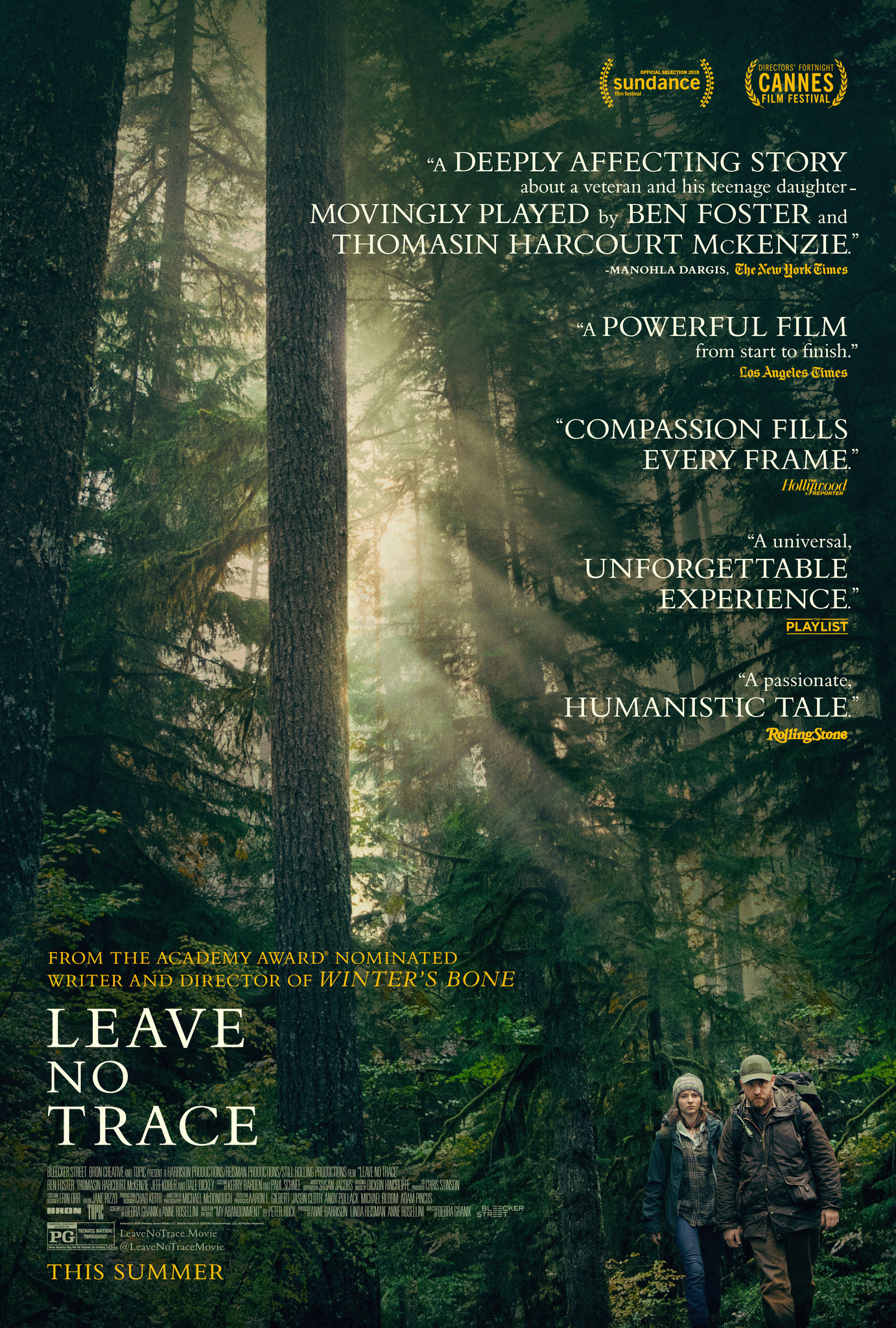 Image result for leave no trace poster