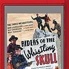 Yakima Canutt, Ray Corrigan, Robert Livingston, Mary Russell, and Max Terhune in Riders of the Whistling Skull (1937)