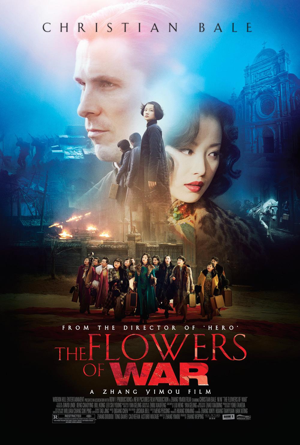 Resultado de la imagen para el cartel de Las Flores de la Guerra.