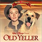 Kevin Corcoran, Tommy Kirk, and Spike in Old Yeller (1957)