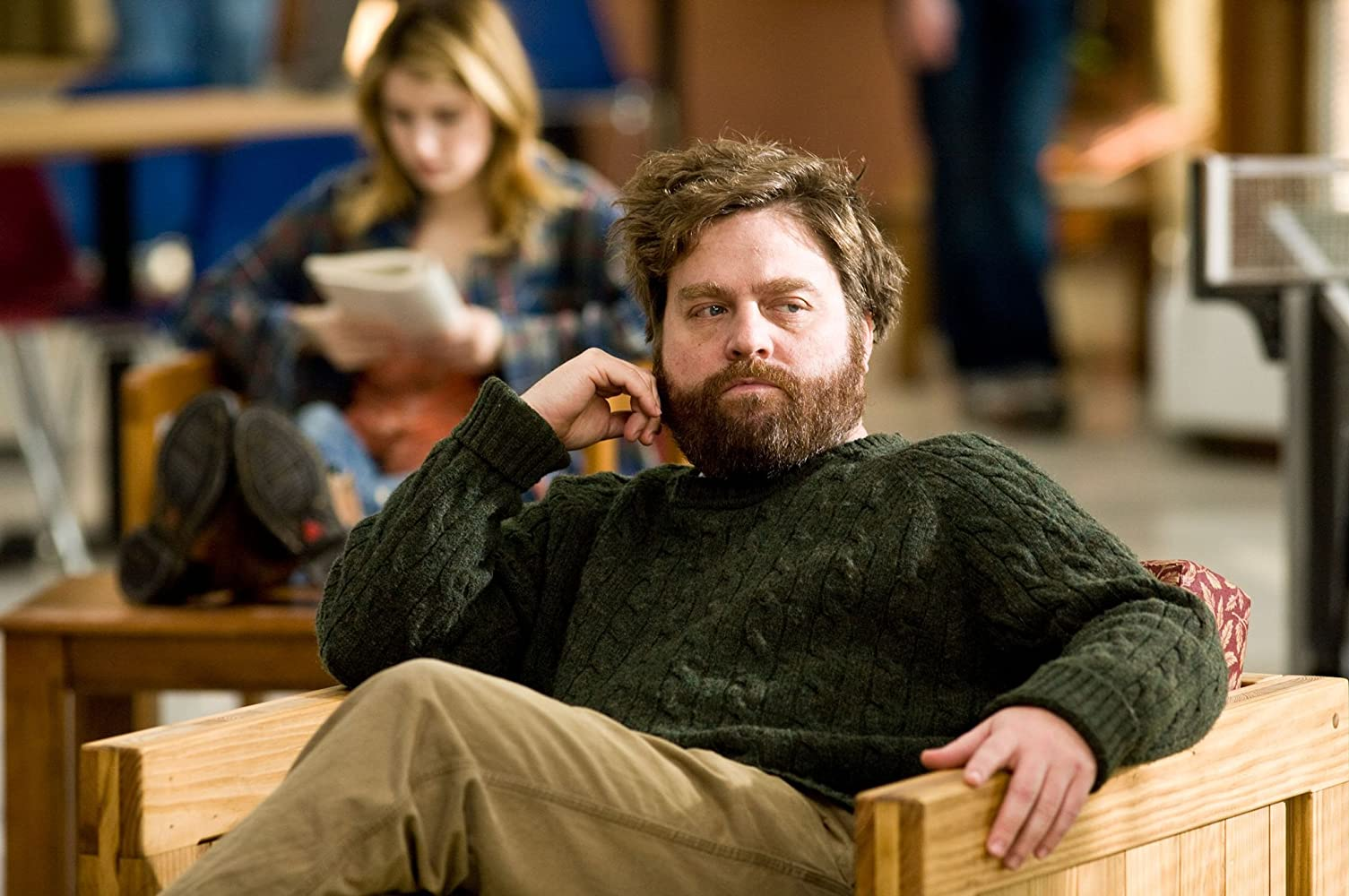 Zach Galifianakis in It's Kind of a Funny Story (2010)