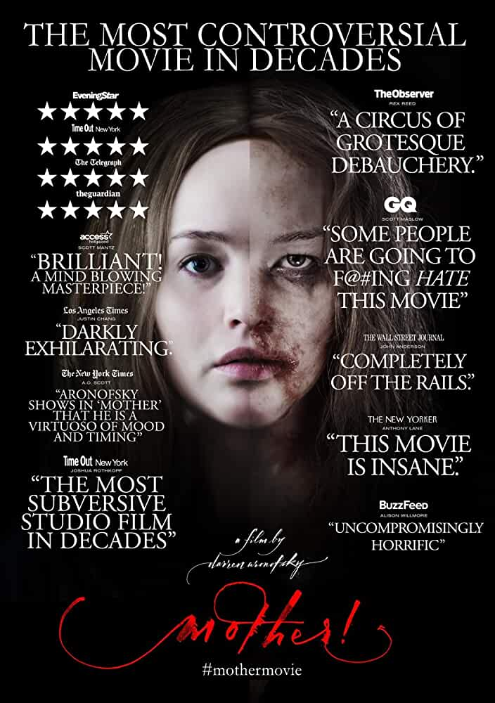 Mother! (2017) English Movie In BluRay With Subs | 720p | 880MB | Download | Watch Online |