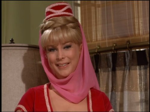 Barbara Eden in I Dream of Jeannie 1965