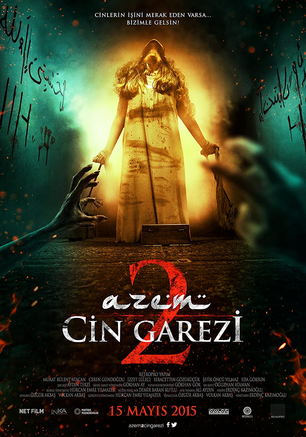 Azem 2: Cin Garezi 2015 Hindi Dual Audio 720p HDRip 700MB Download