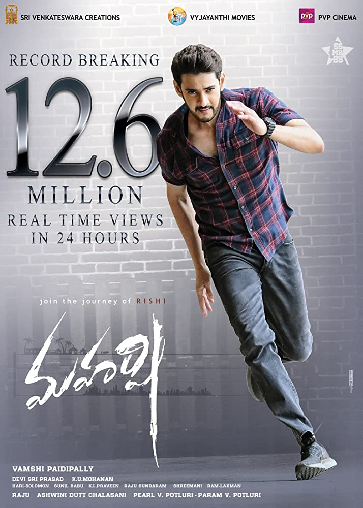 Maharshi 2020 Hindi Dubbed 720p HDRip 900MB
