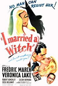 Veronica Lake, Robert Benchley, and Fredric March in I Married a Witch (1942)