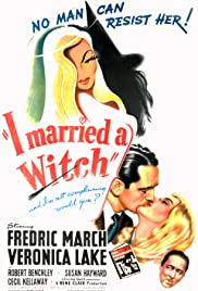 I Married a Witch Poster