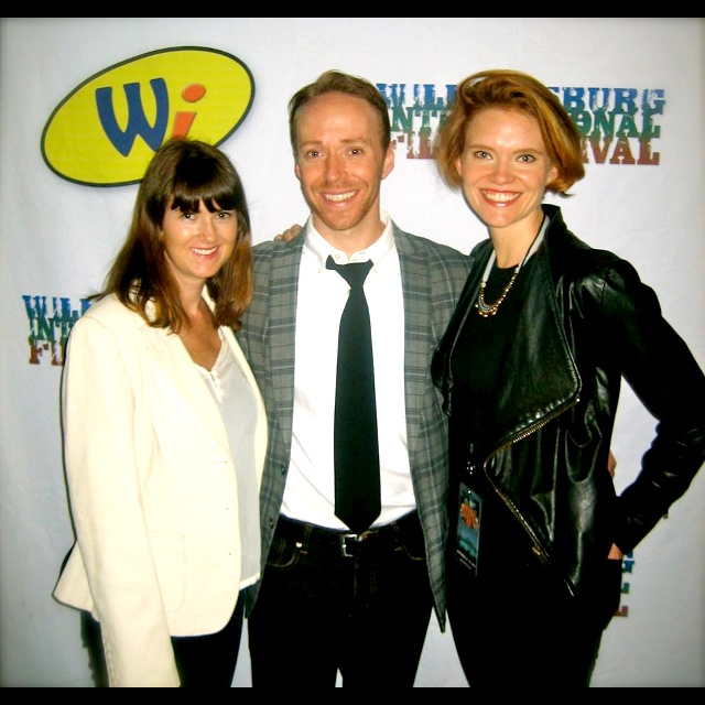 VISITING HOURS - an Official Selection of the Williamsburg International Film Festival (WilliFest'13), Director Sarah Paige & actors Kevin Loreque and Dominique Johnson