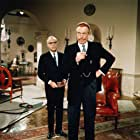Charles Boyer and John Huston in Casino Royale (1967)